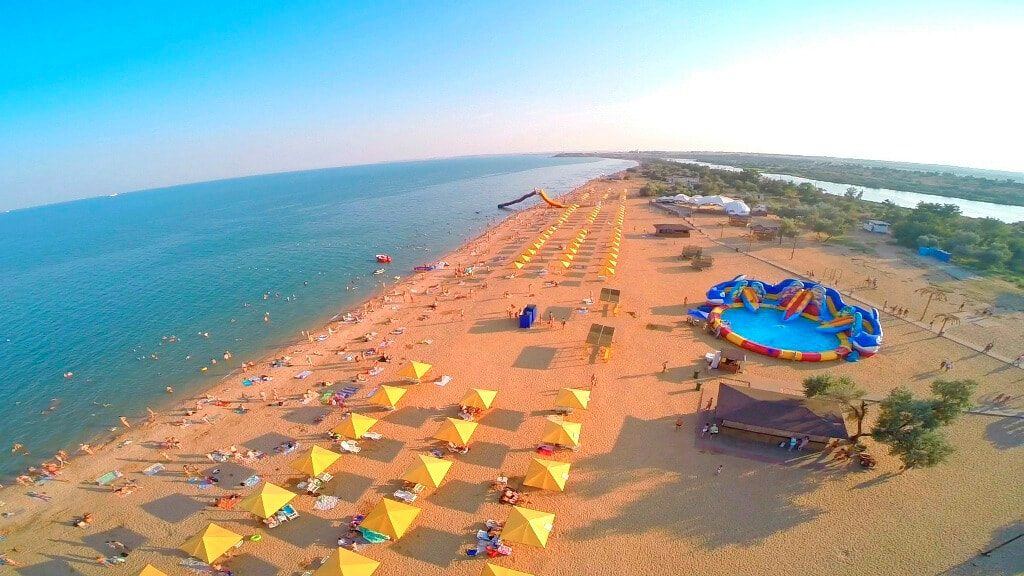 Героевка Керчь отдых пляжи