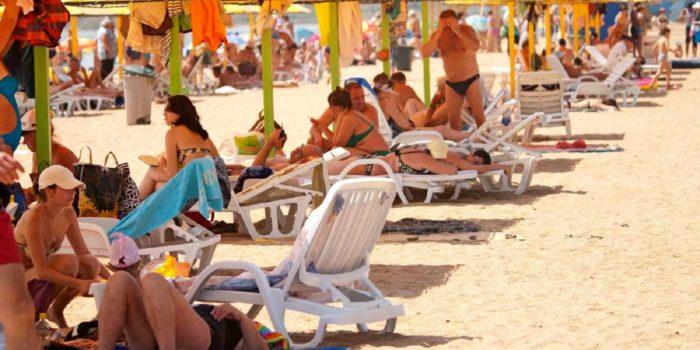 Пляжи в Героевке Керчь