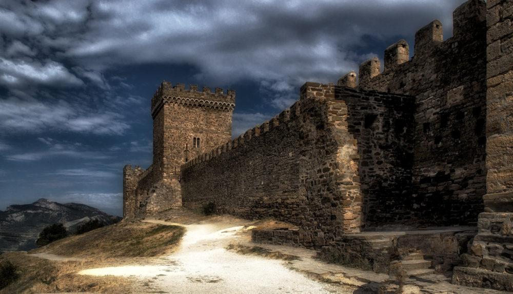 генуэзская крепость судак крым